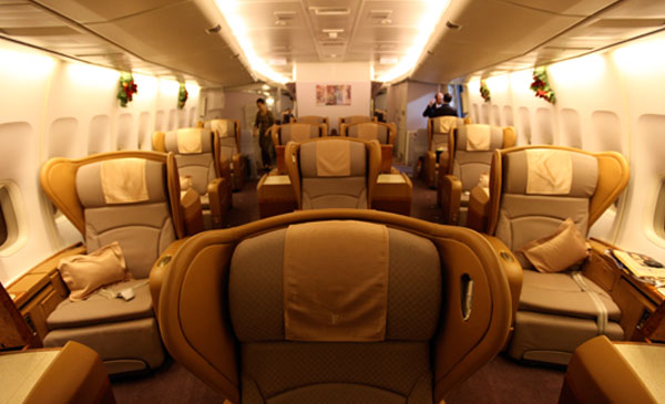 600 Corporate First Class Seating 01