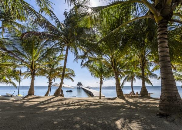 The beach at El Secreto. El Secreto Resort